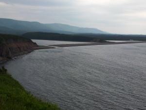 Auf dem Capot trail zum Cape Breton.