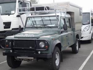 Der Land Rover ist zur Ueberfahrt nach Halifax bereit.