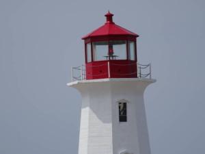 Leuchtturm in Peggys Cove.