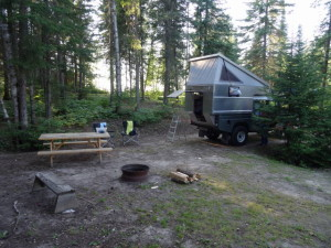 Camp in Twin Lakes.