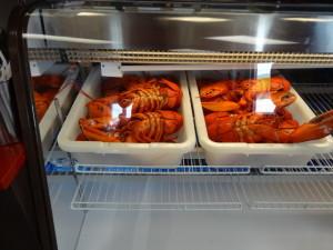 Sogar im Mc Donald gibt es Lobstersandwiches.