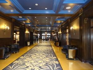 Eine Uebernachtung im Standard Doppelzimmer im Chateau Frontenac kostet 700 Dollars.
