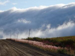 Einzigartige Wolkenformation