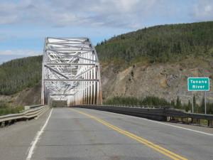 Brücke über den Tanana River