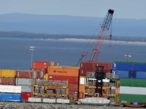 Hafen von Anchorage.