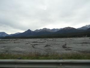 Alaska ist ein wunderschönes Land. Riesige Flussdeltas