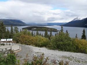 Wir fuhren wieder auf dem Alaskahighway Richtung Watson Lake.