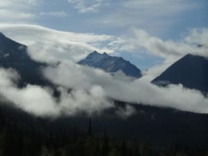 Wir näherten uns wieder den Rocky Mountains.