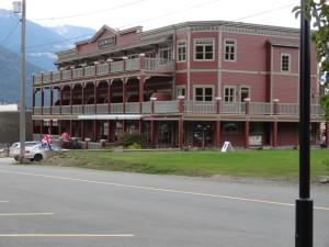 Altes Hotel in Kaslo
