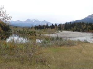 Ein Teil des Parkes gehört zu Kanada, ein Teil zu Montana.