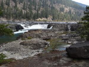 Koutenay Wasserfälle