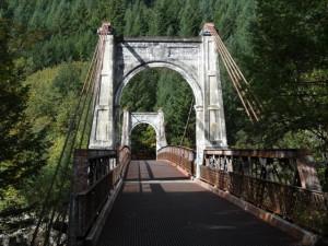 Auf der Caribou road entlang dem Fraser wurden Güter zu den Goldgräberstädten gebracht.