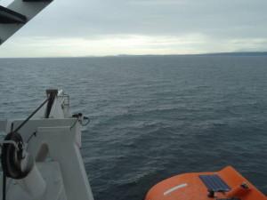 Mit der Fähre fuhren wir von Horseshoe Bay nach Nanaimo(Vancouver Island).