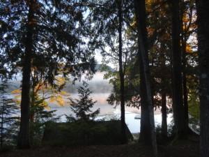 Morgenstimmung am Lake Cowichan