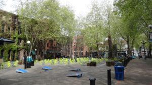 Der Pioneer Square ist der älteste Stadtteil
