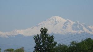 Den Mt. Baker sahen wir nur aus der Ferne. Wir entschlossen uns, durch den North Cascade National Park Richtung Spokane zu fahren.