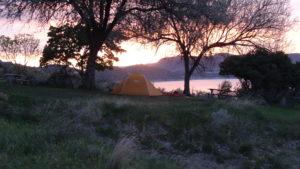 Und genossen einen tolle Sonnenuntergang.