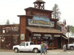 Winthrop, ein Städtchen wie im wilden Westen.