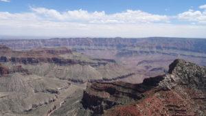 Wir fuhren zum North Rim des Grand Canyons.