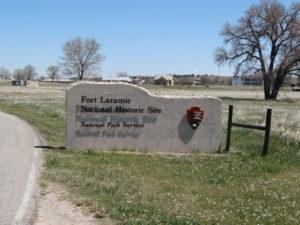 in Fort Laramie ist in Bereitschaft