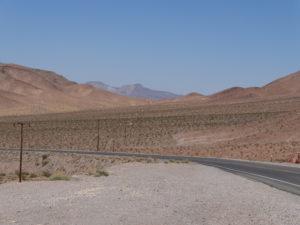 Der Rummel in Las Vegas war uns etwas zuviel, und wir waren froh, wieder unterwegs zu sein.