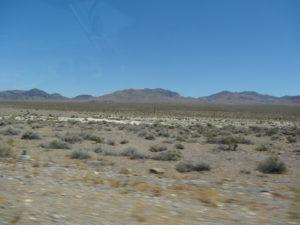 Death Valley. Wir hatten Glück, es war nicht sehr heiss, nur etwa 28°