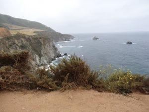 Wir fuhren der Küste entlang.