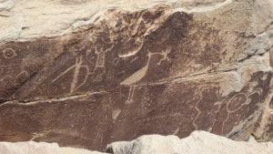 Felszeichnungen der Ureinwohner