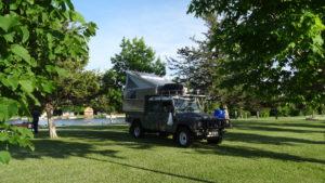 Camping am Lake Ontario