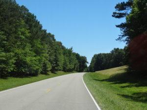 Natchez Trace Parkway:Diesen Weg gingen schon die Indianer und fruehen Siedler. Sie transportierten ihre Waren auf dem Mississippi und kehrten zu Fuss oder mit dem Pferd nach Nashville zurück.