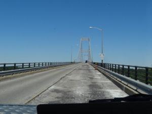 Brücke über den St. Lorenz Strom nach Kanada