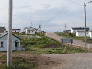 Port Rock: Nach drei Tagen Einsamkeit zurück in der Zivilisation. Wir sind froh, dass wir den Trans Labrador Highway ohne Panne überstanden haben.