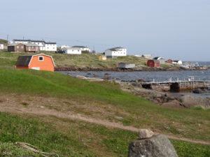 Im 17. Jahrhundert kamen Basken aus Europa in diese Bucht um hier Wale zu fangen.