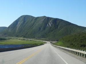 am Rande desGros Morne National Parks vorbei......