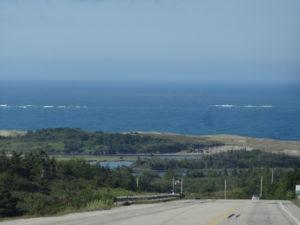 der Küste entlang......
