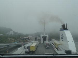 Nova Scotia hiess uns nicht gerade mit freundlichem Wetter willkommen.